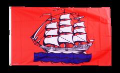 Flagge Deutschland Stadt Elmshorn - 90 x 150 cm