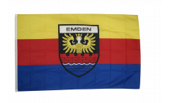 Flagge Deutschland Stadt Emden - 90 x 150 cm