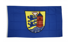 Flagge Deutschland Stadt Flensburg - 90 x 150 cm