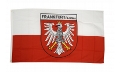 Flagge Deutschland Stadt Frankfurt