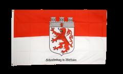 Flagge Deutschland Stadt Hohenlimburg - 90 x 150 cm