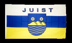 Flagge Deutschland Stadt Juist - 90 x 150 cm