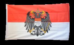 Flagge Deutschland Stadt Köln mit großem Wappen - 90 x 150 cm