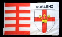 Flagge Deutschland Stadt Koblenz