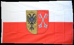 Flagge Deutschland Stadt Minden - 90 x 150 cm