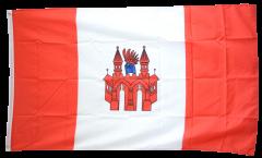 Flagge Deutschland Stadt Neubrandenburg - 90 x 150 cm