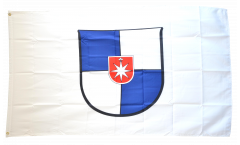 Flagge Deutschland Stadt Norderstedt - 90 x 150 cm