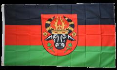 Flagge Deutschland Stadt Parchim - 90 x 150 cm