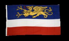 Flagge Deutschland Stadt Rostock - 90 x 150 cm