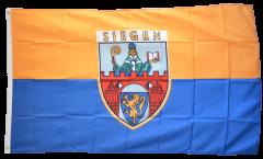 Flagge Deutschland Stadt Siegen - 90 x 150 cm