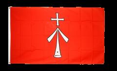 Flagge Deutschland Stadt Stralsund - 90 x 150 cm