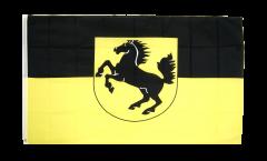Flagge Deutschland Stadt Stuttgart