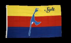 Flagge Deutschland Stadt Sylt - 90 x 150 cm