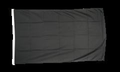 Flagge Einfarbig Schwarz
