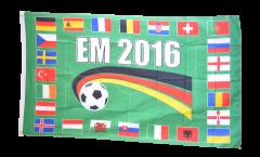 Flagge EM 2016 24 Länder - 90 x 150 cm