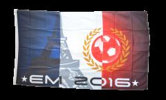 Flagge EM 2016 Eiffelturm