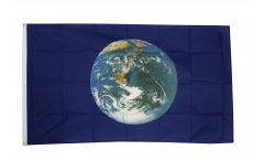 Flagge Erde - 90 x 150 cm