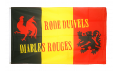 Flagge Fanflagge Belgien Rode Duivels - 90 x 150 cm
