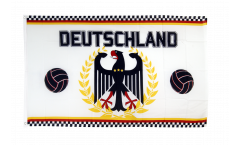 Flagge Fanflagge Deutschland Fußball - 90 x 150 cm
