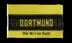 Flagge Fanflagge Dortmund Adler Nr.1 aus dem Pott
