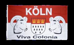 Flagge Fanflagge Köln Viva Colonia - 90 x 150 cm