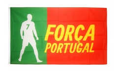 Flagge Fanflagge Portugal Forca - 90 x 150 cm