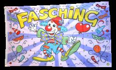 Flagge Fasching - 90 x 150 cm