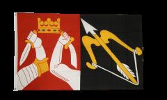 Flagge Finnland Ostfinnland - 90 x 150 cm