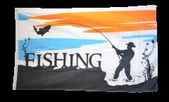 Flagge Fishing - Angeln