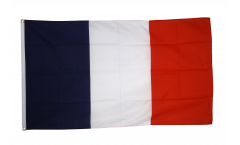 Monsterflagge / Riesenflagge Frankreich, genäht - 270 x 450 cm