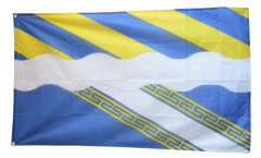 Flagge Frankreich Aisne - 90 x 150 cm