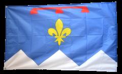 Flagge Frankreich Alpes-de-Haute-Provence - 90 x 150 cm