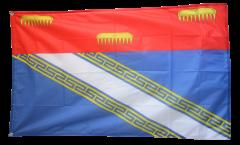Flagge Frankreich Ardennes - 90 x 150 cm