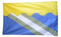 Flagge Frankreich Aube - 90 x 150 cm