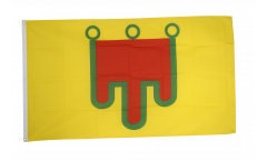 Flagge Frankreich Auvergne