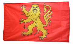 Flagge Frankreich Aveyron