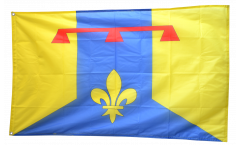 Flagge Frankreich Bouches-du-Rhône - 90 x 150 cm