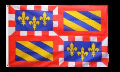 Flagge Frankreich Burgund