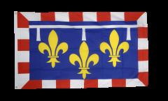 Flagge Frankreich Centre