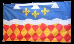 Flagge Frankreich Charente - 90 x 150 cm