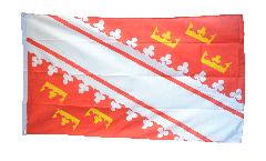 Flagge Frankreich Elsass neu