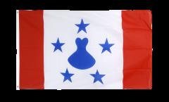 Flagge Frankreich Französisch Polynesien Austral-Inseln - 90 x 150 cm