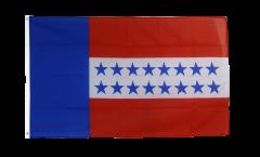 Flagge Frankreich Französisch Polynesien Tuamotu-Archipel - 90 x 150 cm