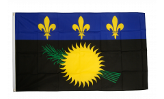 Flagge Frankreich Guadeloupe