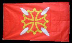 Flagge Frankreich Haute-Garonne - 90 x 150 cm