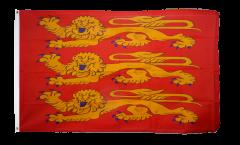 Flagge Frankreich Haute Normandie, treis cats