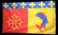 Flagge Frankreich Hautes-Alpes - 90 x 150 cm