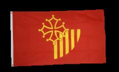 Flagge Frankreich Languedoc-Roussillon