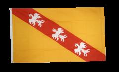Flagge Frankreich Lothringen