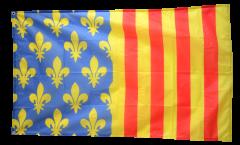 Flagge Frankreich Lozère
